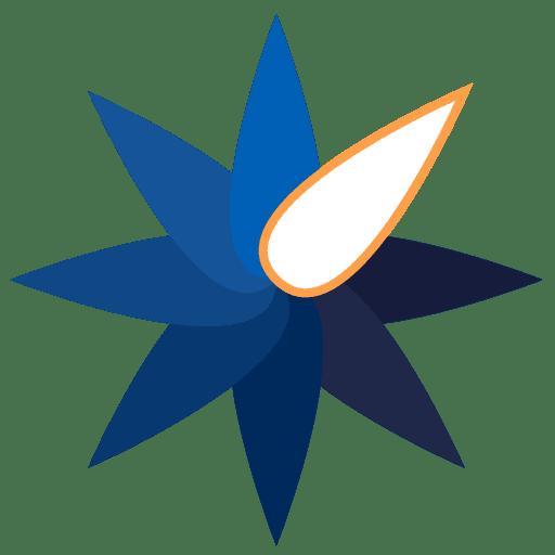 BlastMagazine.com Flower Logo