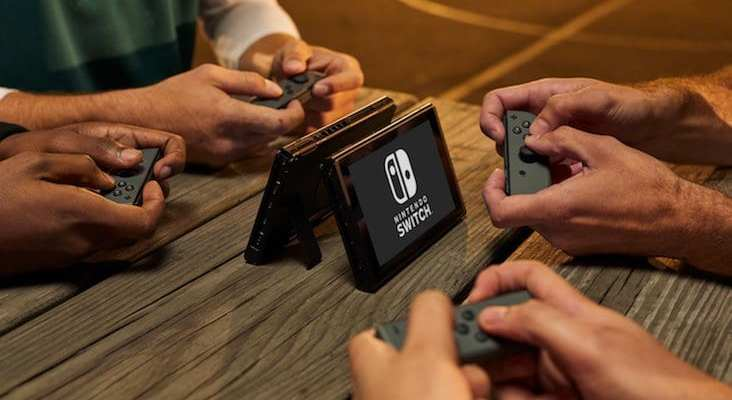 nintendo switch console release