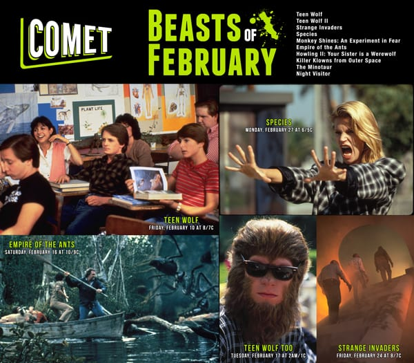 This month, readers of Blast Magazine and lovers of the strange can win a  spooky prize pack offered by Comet TV. This assortment of items includes  two ...