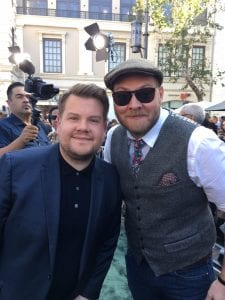 Composer Dominic Lewis and Actor James Corden