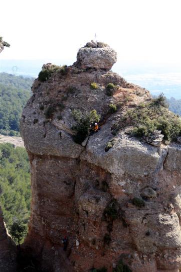 Si mirais bien, veréis escaladores