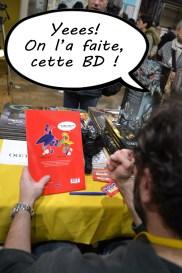 Salon de la BD à Paris