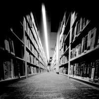 Pinhole in the Library