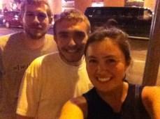 Ian, Tom and myself post-concert