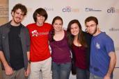 The group :) [Bobby, Jonathan, Sienna, Moi, and Aaron]