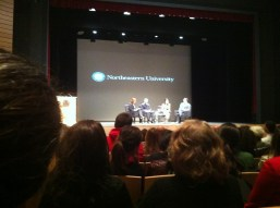 Panel event at Northeastern featuring [THESE FOUR PEOPLE]