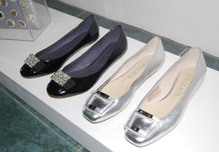 comfy flats by Charles and Keith