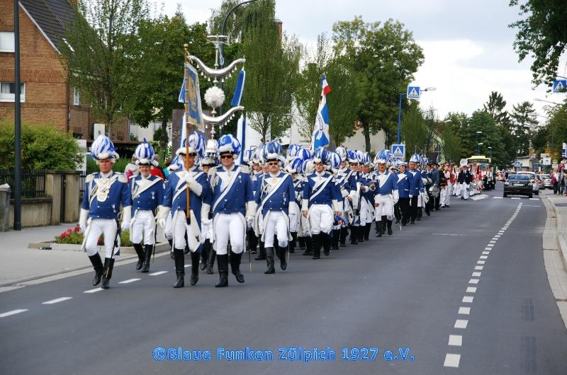 Jubiläum Musikzug / Besuch Merlots 2014
