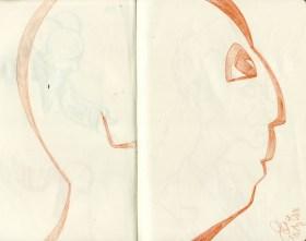 """""""Zeichnen ist Weglassen"""" - sagte schon Liebermann - """"To draw is to omit"""" - as said bei Max Liebermann."""
