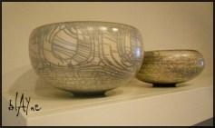 Cracked terra sigillata. Not a raku glaze or naked raku just terra.