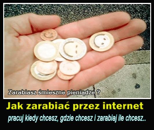 zarabiaj przez internet duże pieniądze