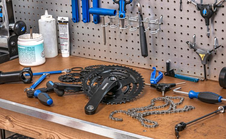 bicycle tour bike trip packing repair gear