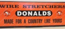 Logo - Donalds Wire Stretchers