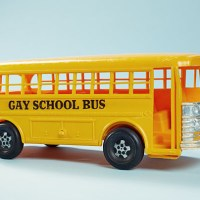This is the Gayest School Bus I've Ever Seen