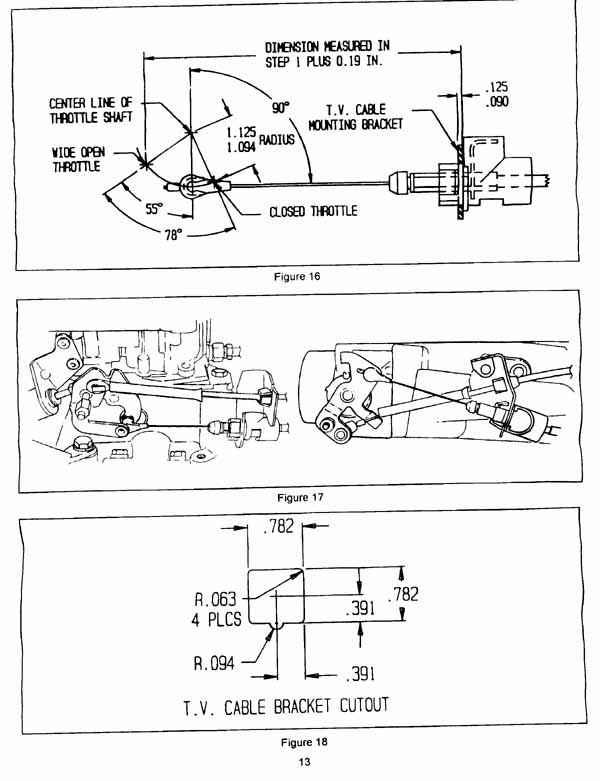 Diagram Linkage 1406 Edelbrock