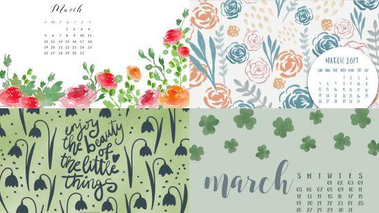 march-2017-montlhy-calendar-background