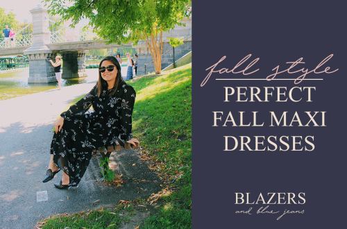 maxi dresses perfect for fall