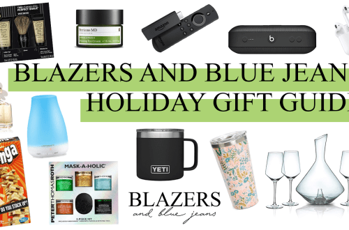 blazers and blue jeans ultimate gift guide
