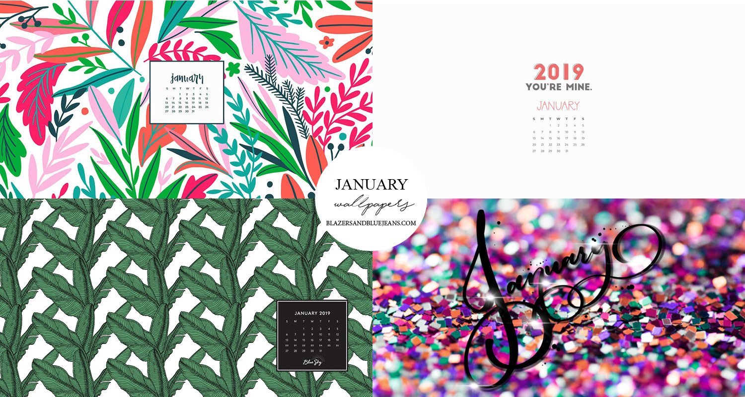 1 Wallpaper January 2019 Wallpapers Blazers And Blue Jeans
