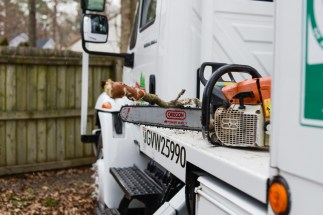 Tree care equipment: Blazer Tree Services, Richmond VA area