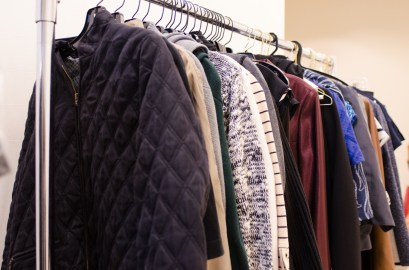 Clothing donations to The Cara Program