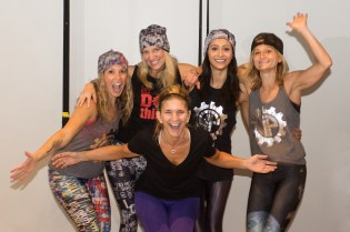 Renata Bregstone, founder and CEO of Blazin' Babes feeling pumped by the WheelPower team of instructors