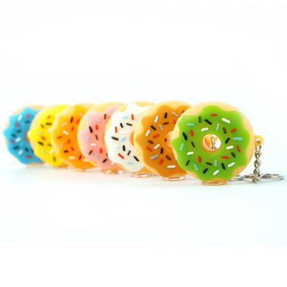 Doughnut Herb Pipe Keychains with Bowl