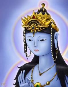 Blue Tara by Yantra3D on DeviantART