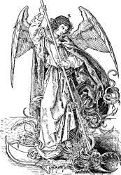 St Michael Spearing Dragon