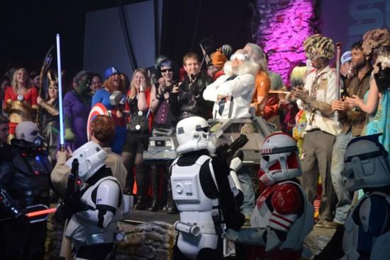 Cosplayers at Sci-FiWeekender 5 (Photo by Karen Woodham)