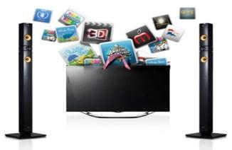 LG BH4030S smart tv