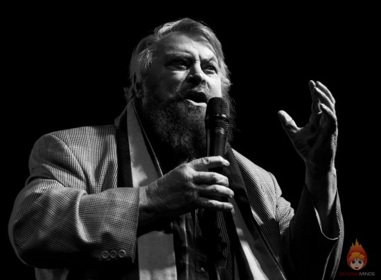 Brian Blessed OBE is heading to Scoi-Fi Weekender SFWX in 2019