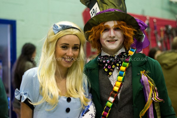 Alice and The Hatter at Wales Comic Con 2016 Part 2