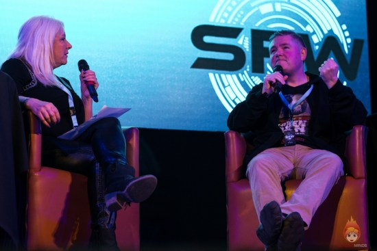 Sam Stone chats with Darren Shan at SFW8