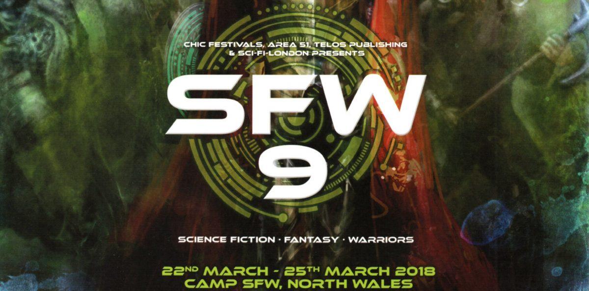 Final Guest Announcement for Sci-Fi Weekender 9 (2018)