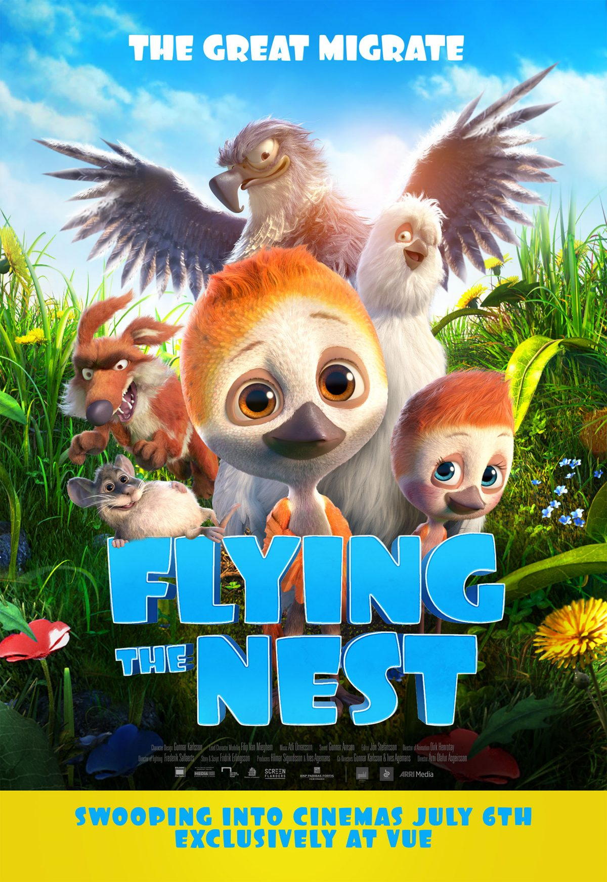 Flying The Nest Lands with a New Trailer and Artwork