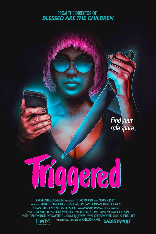 Triggered, a Dark Horror Comedy, Film Review