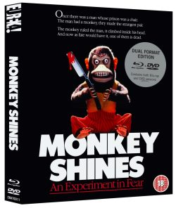 Monkey Shines Release on Blu-ray Case