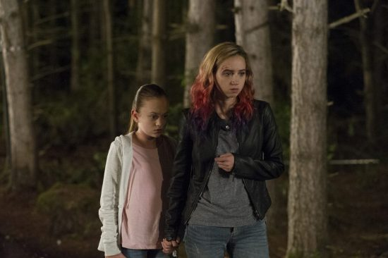 Ella Balentine and Zoe Kazan in The Monster (2)