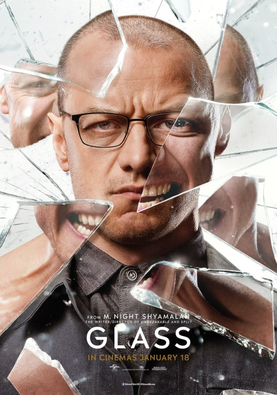Glass - New Character Posters - James McAvoy