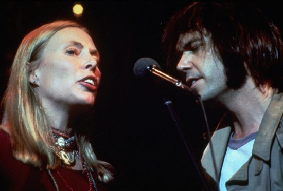 The Last Waltz - Joni Mitchell and Neil Diamond - Eureka Entertainment