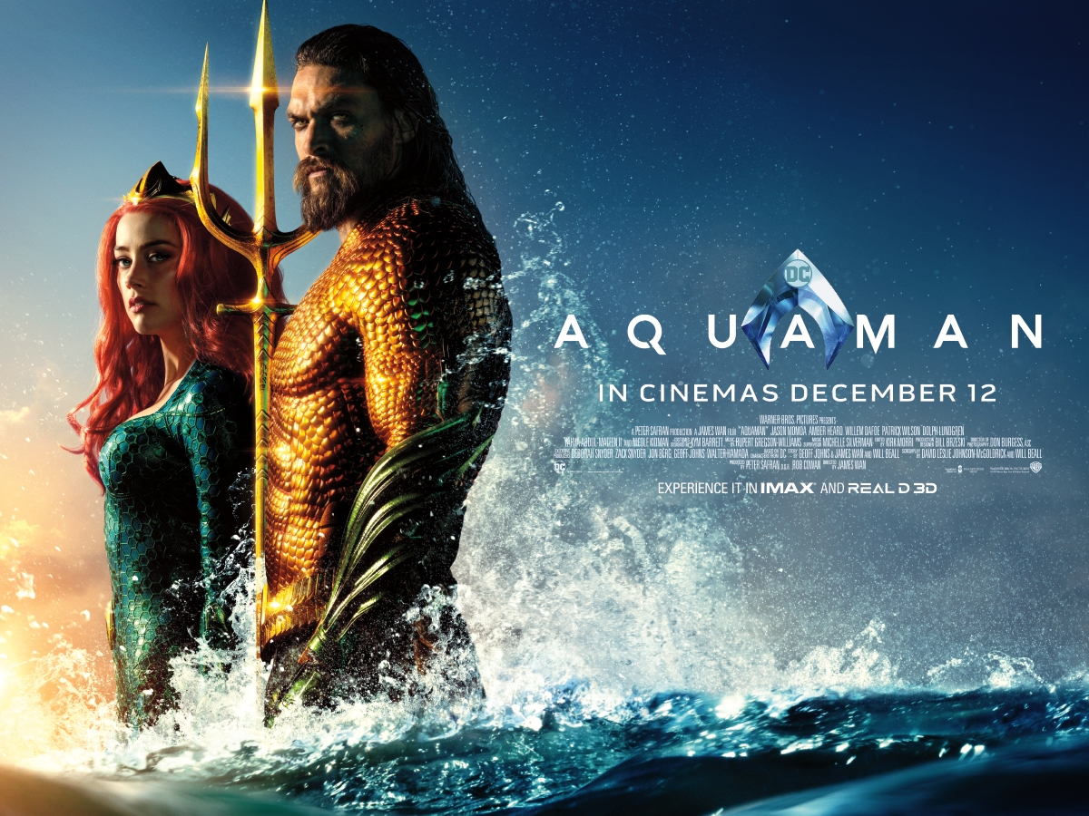 WIN a AQUAMAN Official Merchandise Prize Bundle