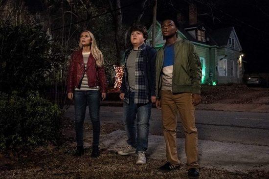 Caleel Harris, Jeremy Ray Taylor, and Madison Iseman in Goosebumps 2 Haunted Halloween (2018)