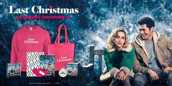 Win Last Christmas merchandise with Blazing Minds