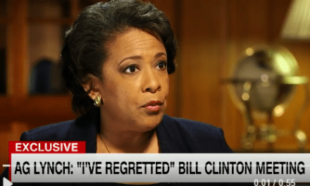 Lynch says she regrets tarmac meeting with Bill Clinton