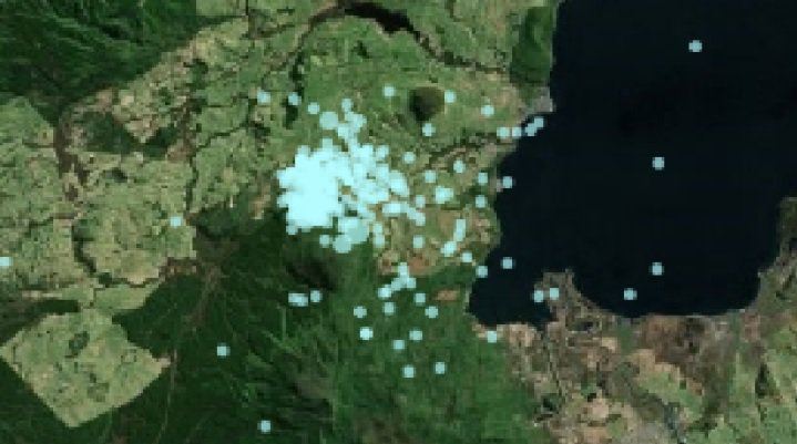 Swarm of 300 earthquakes rattle Aupo Volcanic Zone in New Zealand