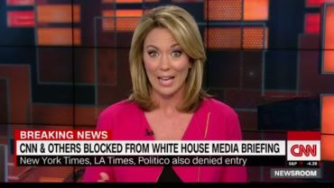CNN IN SHOCK After Getting Blocked From Attending White House Presser, Claims It's A Retaliation