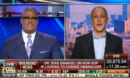 "Obamacare Architect: ""Obamacare is Doing Quite Well, Better Than Anyone Expected"" (VIDEO)"