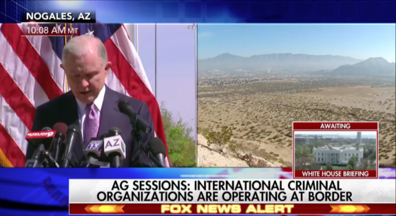 AG Sessions Calls Out Cartels, Gangs, and Illegal Aliens 'This is a New Era. This is the Trump Era' (VIDEO)