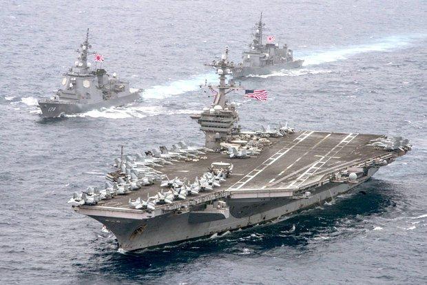 US War Fleet Now Within 'Strike Range' of North Korea
